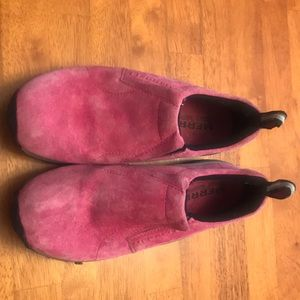 Merrell pink moc shoes women's size 5